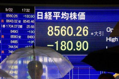 El índice Nikkei bajó 11,24 puntos, el 0,13 por ciento, hasta los 8.549,02 puntos