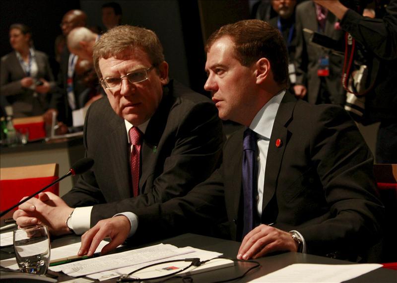 Medvédev sugiere a su titular de Finanzas que dimita por discrepar del Kremlin