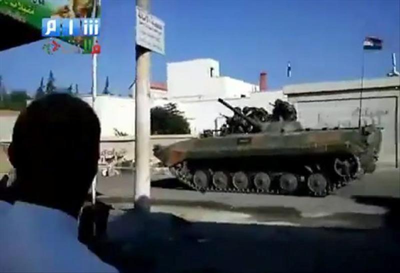 Al menos 20 heridos en la ciudad siria de Rastan tras la irrupción de los tanques