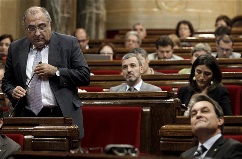 """Joaquim Nadal dice que Mas """"no pide sacrificios, sino que prepara la inmolación"""""""