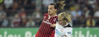 2-0. Ibra y Cassano dan autoridad al Milán