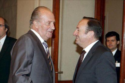 El rey recibe a los presidentes de Valencia y de La Rioja