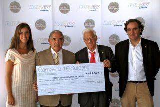 Fundación MRW entrega 79.200 euros a Mensajeros de la Paz