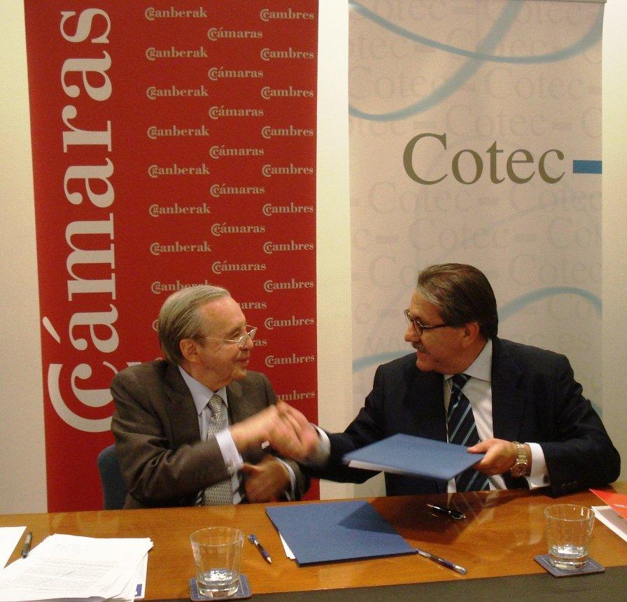 Las Cámaras de Comercio y la Fundación Cotec quieren impulsar la innovación en las pyme