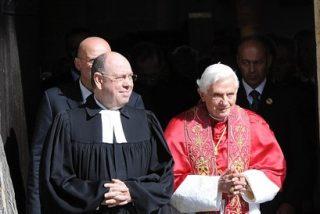 El Papa decepciona a los protestantes alemanes