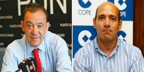 Abellán le chafa a la COPE la entrevista exclusiva a Luis García Plaza