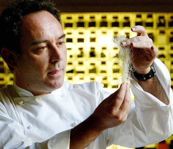 Chef español Ferran Adriá y Gastón Acurio participarán en rodaje de documental en Perú