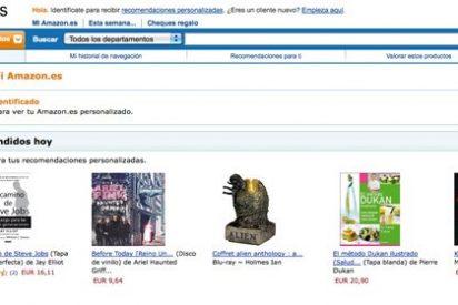 España da la bienvenida a Amazon