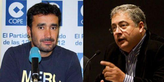 Juanma Castaño (Cuatro y COPE) y José Joaquín Brotons (GolT) se llevan el conflicto de las radios al terreno personal