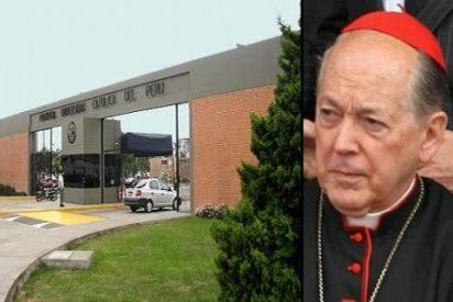 El pulso entre el cardenal Cipriani y la Universidad pontificia de Perú