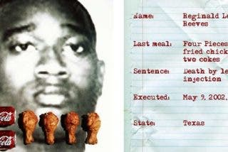 Los condenados a muerte ya no podrán elegir menú antes de su ejecución