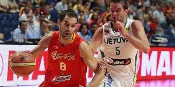 España pasa por encima de Lituania en el Eurobasket (79-91)