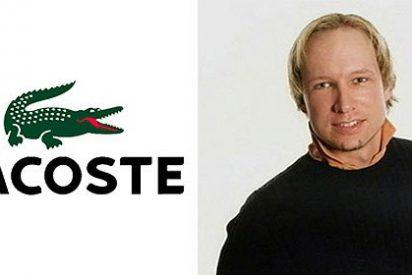 """Lacoste a Anders Breivik: """"¡Quítate el polo del cocodrilo, sucio asesino!"""""""