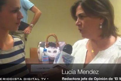 """Lucía Mendez ('El Mundo'): """"Hay periodistas que buscan seguidores en Twitter como si fueran Lady Gaga"""""""