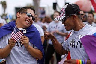El soldado gay ya no tiene que permanecer en la retaguardia