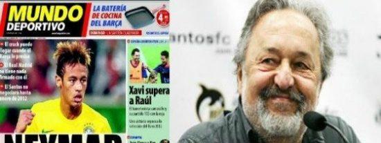 El Presidente del Santos se lía en directo en 'Punto Pelota' con el tema Neymar