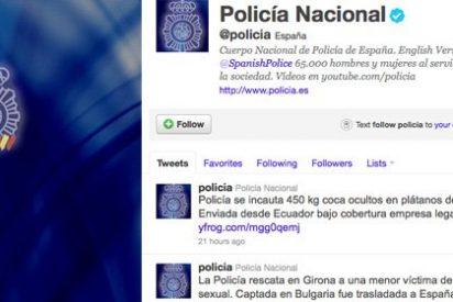 La web de la Policía Nacional tumbada tras un supuesto robo de datos