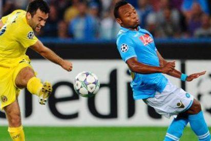 El Villarreal vuelve a perder, esta vez contra el Nápoles (2-0)