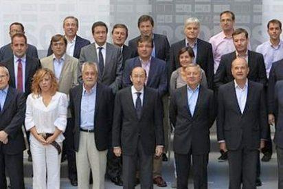 Caos y despelote en el PSOE de Zapatero-Rubalcaba