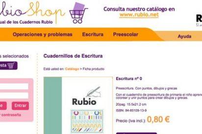 Las farmacias venderán Cuadernos Rubio para Mayores