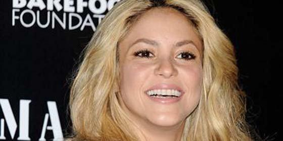 Shakira recibe la medalla de bronce en la 'Copa del Burro'