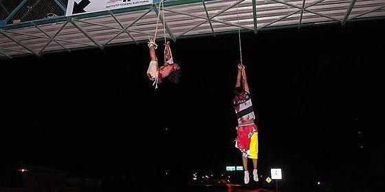 Torturan, matan y cuelgan a dos internautas por denunciar el crimen