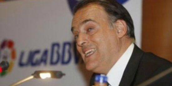 """Javier Tebas: """"Que José María García me critique es para ponerlo en el currículum"""""""