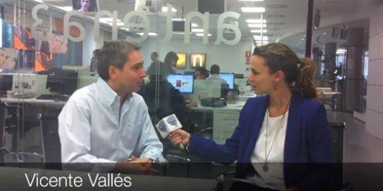 """Vicente Vallés: """"Se debería rebajar el tono en torno a TVE"""""""