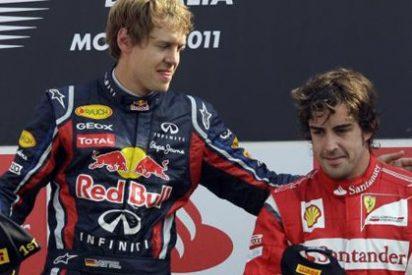 Vettel sentencia el Mundial y Alonso amarra el podio en Monza