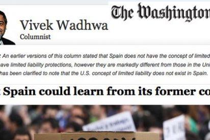 """The Washington Post define a España como """"valle de la muerte del espíritu empresarial"""""""