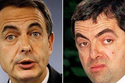 """Mr Bean: """"No descarto utilizar a Zapatero como doble en el futuro"""""""
