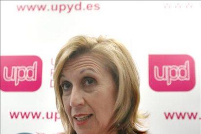 """Rosa Díez: """"Si los que están hasta el gorro del PSOE y PP nos vota, ganaríamos las elecciones"""""""