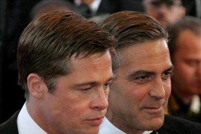 George Clooney y Brad Pitt comparten su pasión por los niños de Angelina