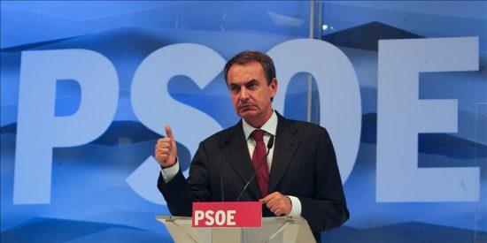 Zapatero asegura que ha hecho lo que debía y la historia dará gracias al PSOE