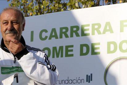 """Vicente del Bosque, """"muy contento"""" de apadrinar la I Carrera de Síndrome de Down"""
