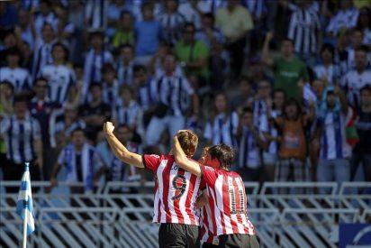 1-2. El Athletic se lleva el derbi vasco con dos goles de Fernando Llorente