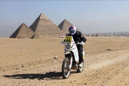 Coma gana una nueva etapa y lidera el Rally de los Faraones