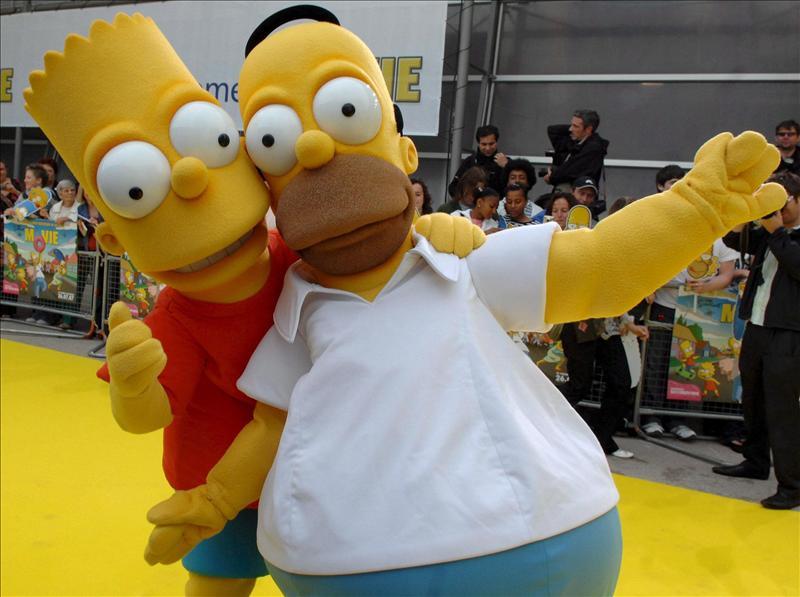 """Fox anuncia la renovación de """"The Simpsons"""" por dos temporadas más"""
