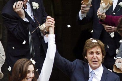 Paul McCartney se casa por tercera vez