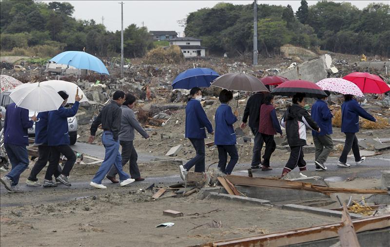 Un seísmo de 5,6 grados de magnitud golpea Fukushima sin alerta de tsunami