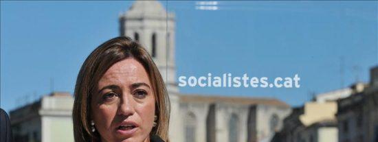 Chacón alerta de que los recortes de Cataluña se extenderán a España si gana el PP
