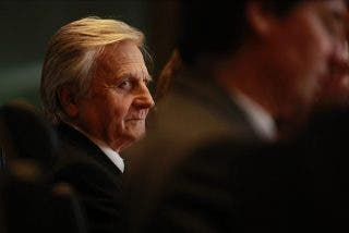 Trichet evalúa hoy en el Parlamento Europeo los riesgos de la banca europea