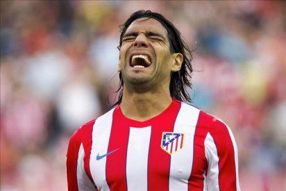 El Atlético solo marca de penalti