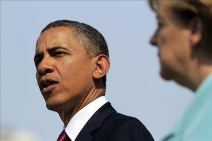 Obama trató con Merkel de la crisis en la Eurozona y los preparativos de la cumbre de G20