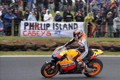 Stoner no deja lugar para la duda y sentencia los entrenamientos en MotoGP
