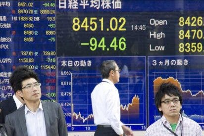 El Nikkei sube 131,64 puntos, un 1,50 por ciento, hasta 8.879,60 puntos