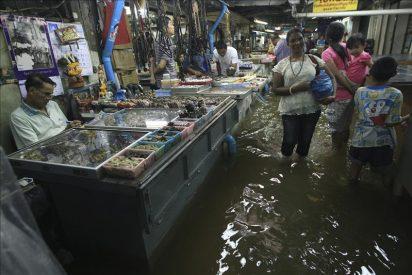 Las autoridades evacúan el sexto parque industrial inundado en Tailandia