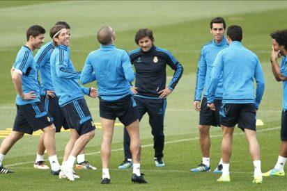 Mourinho reúne a sus jugadores veinte minutos