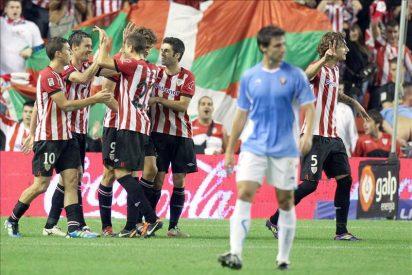 3-1. El Athletic escapa de abajo con un triunfo convincente ante Osasuna
