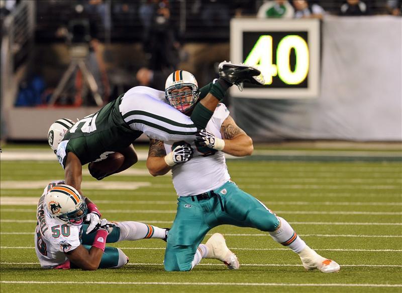 24-6. Revis fue la figura que permitió a los Jets romper racha perdedora
